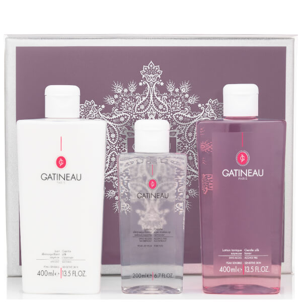 Gatineau Gentle Silk Cleansing Collection (Worth £41.92)