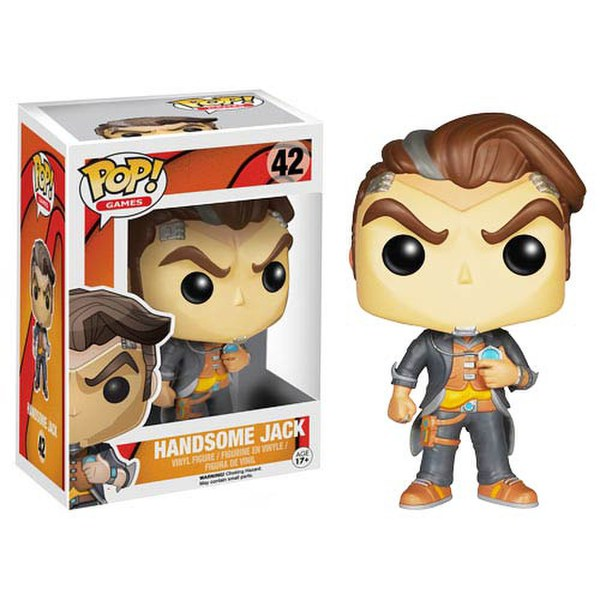 Borderlands Handsome Jack Pop! Vinyl Figure