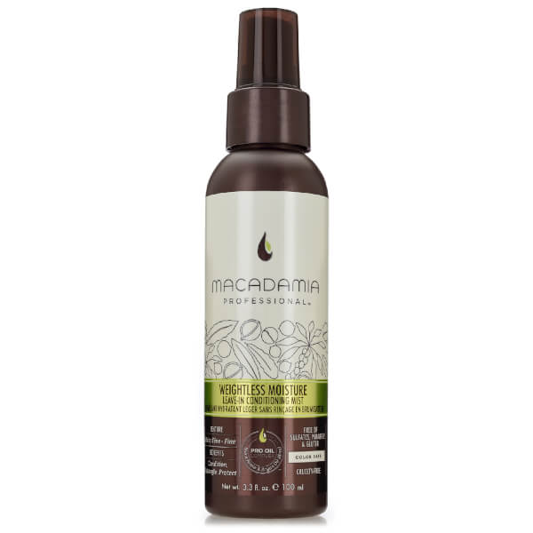 Weightless Moisture Leave In Conditioning de Macadamia (100 ml)