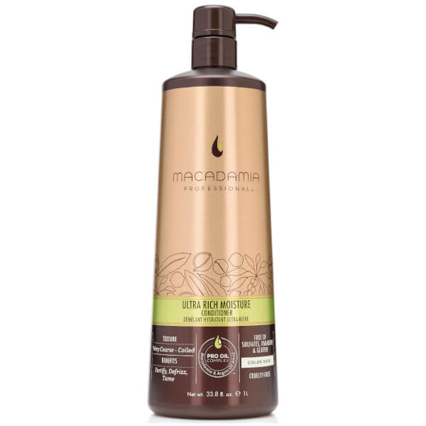 Macadamia Ultra Rich Moisture Conditioner (1000ml)