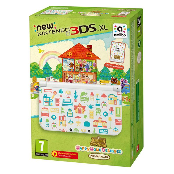 New Nintendo 3DS XL Animal Crossing: Happy Home Designer ...