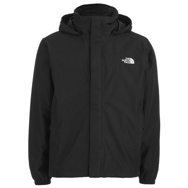 the north face men 39 s resolve hyvent hooded jacket tnf black free uk delivery over 50. Black Bedroom Furniture Sets. Home Design Ideas