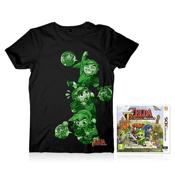 The Legend of Zelda: Tri Force Heroes + T-Shirt