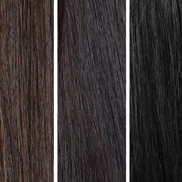 Beauty Works 100% Remy Colour Swatch - Dark pakke