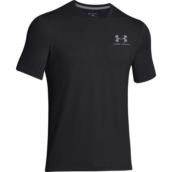Under Armour Men's Sportstyle Left Chest Logo T-Shirt - Black