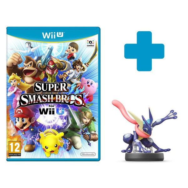 Super Smash Bros. for Wii U + Greninja No.36 amiibo