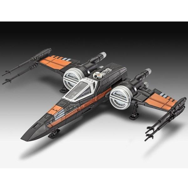 Star Wars, épisode VII : Le Réveil de la Force X-Wing Fighter Poe 22cm