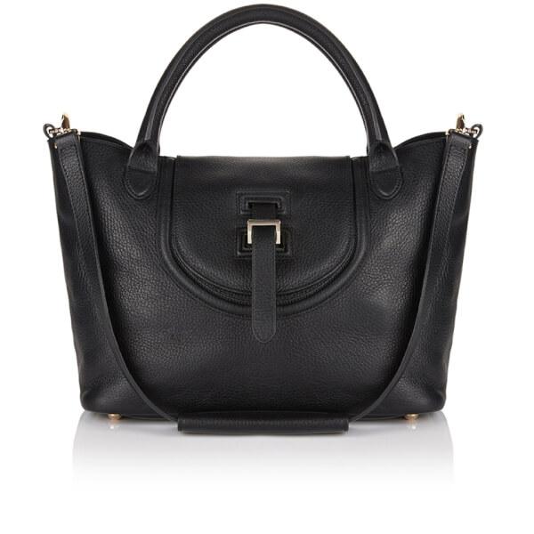meli melo Thela Halo Medium Tote Bag - Black