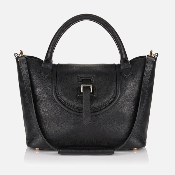 meli melo Thela Halo Medium Tote Bag - Black