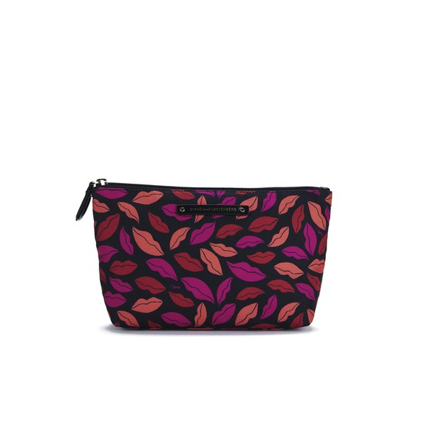 Diane von Furstenberg Women's Voyage Small Cosmetic Bag - Nylon Midnight Kiss