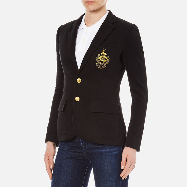 Polo Ralph Lauren Women S Custom Blazer Polo Black
