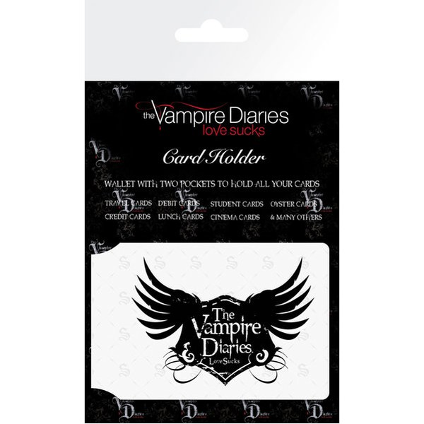The Vampire Diaries Wings - Card Holder