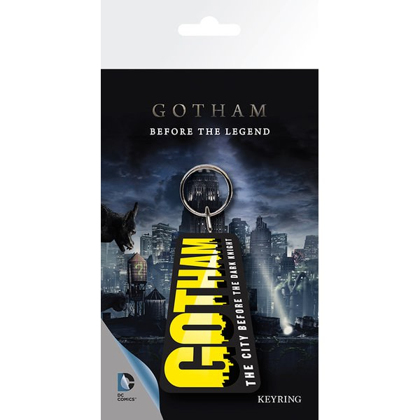 DC Comics Gotham Logo - Key Chain