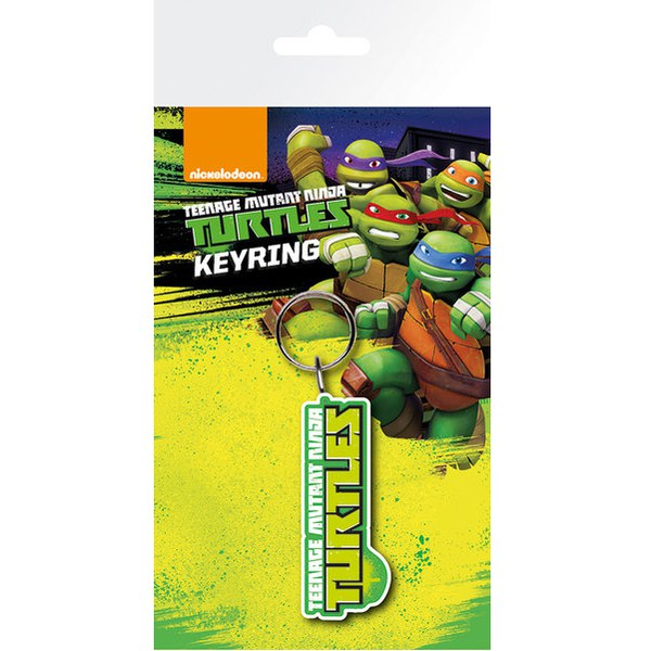 Teenage Mutant Ninja Turtles Logo - Key Chain