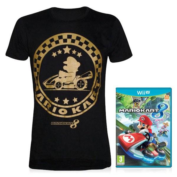 Mario Kart 8 + FREE T-Shirt