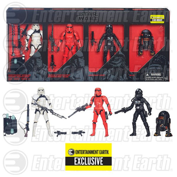 Star Wars The Force Awakens The Black Series Collector Set