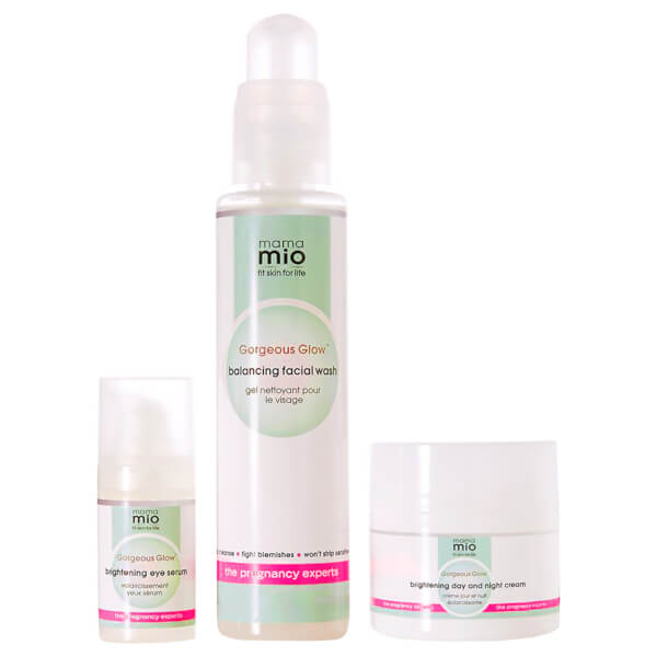Mama Mio Gorgeous Glow 3-stufiges Set