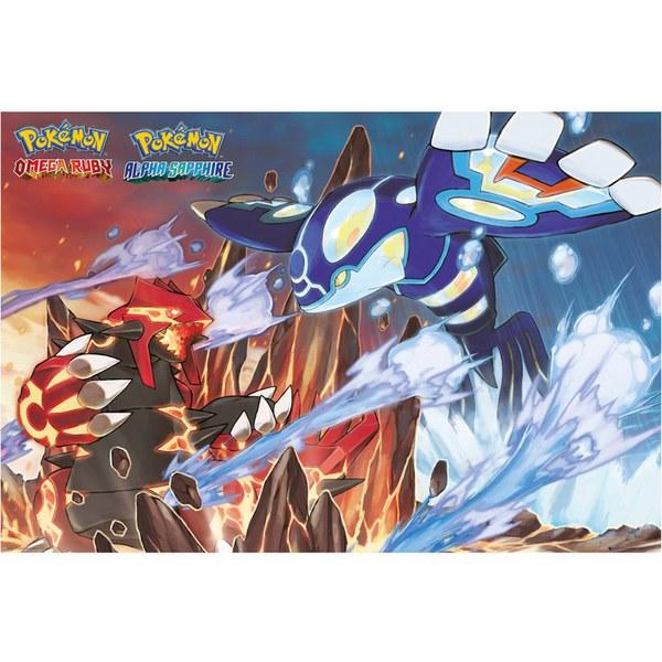 Pokémon Groudon and Kyogre Maxi Poster