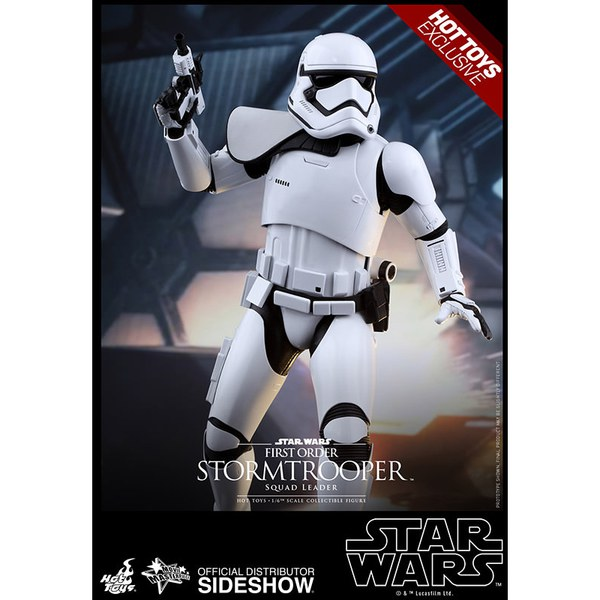 Hot Toys Star Wars: The Force Awakens - First Order Squad Leader Stormtrooper - Sixth Scale Figure
