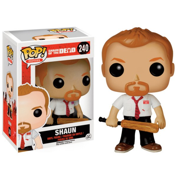 Shaun Of The Dead Shaun Pop Vinyl Figure Pop In A Box Uk