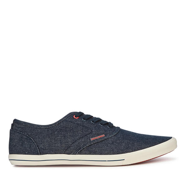 Jack & Jones Spider Canvas Sneakers - Lichtblauw Denim