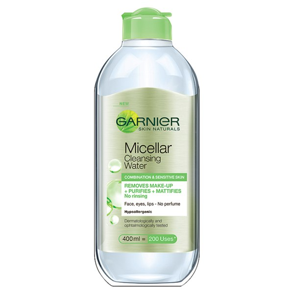 Garnier Skin Naturals Micellar Cleansing Water Combination and Sensitive Skin (400ml)