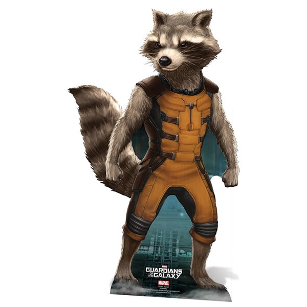Marvel Guardians Of The Galaxy Rocket Raccoon Cut Out