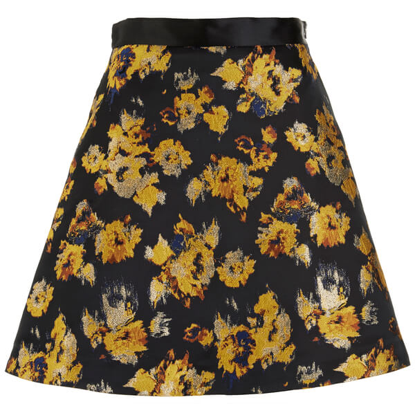 Sportmax Code Women's Eva Skirt - Yellow