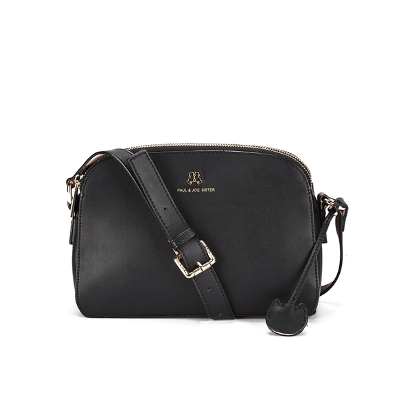 Paul Joe Sister Women S Erin Zip Messenger Bag Black Image 1