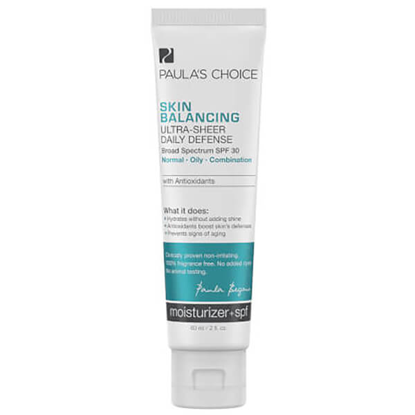 Paula's Choice Skin Balancing Ultra-Sheer Daily Defense SPF30 (60ml)