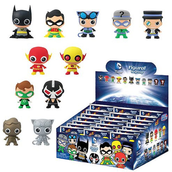 DC Comics Series 2 3D Figural Foam Mini-Figure Key Chain