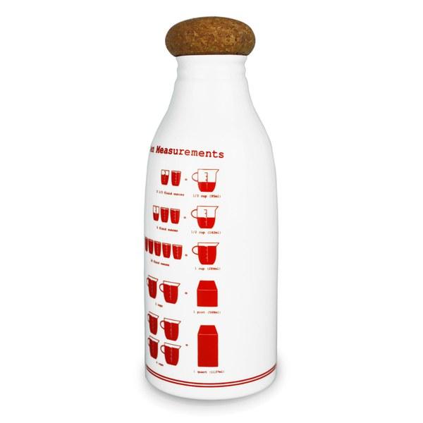 Keith Brymer Jones Kitchen Measurements Fridge Bottle - White