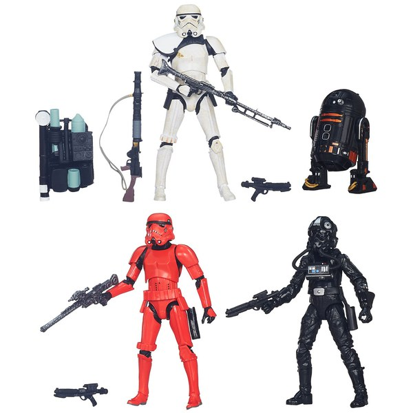 Star Wars: The Force Awakens The Black Series Trooper Vision Exclusive 4-Pack Figures
