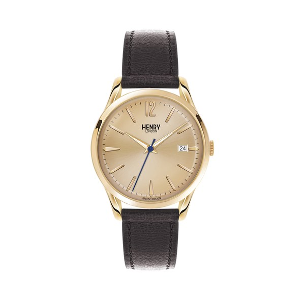Henry London Westminster Watch - Black/Gold
