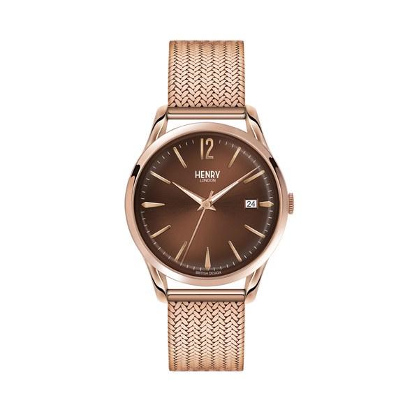Henry London Harrow Bracelet Watch - Rose Gold