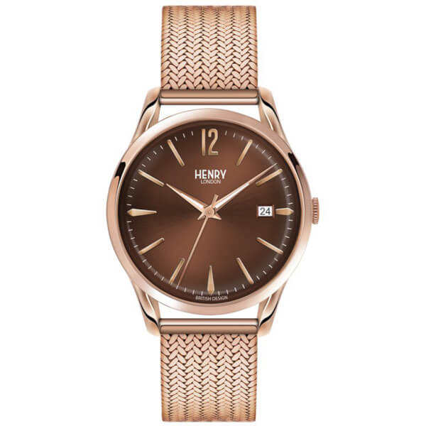 Henry London Harrow Bracelet Watch - Rose Gold
