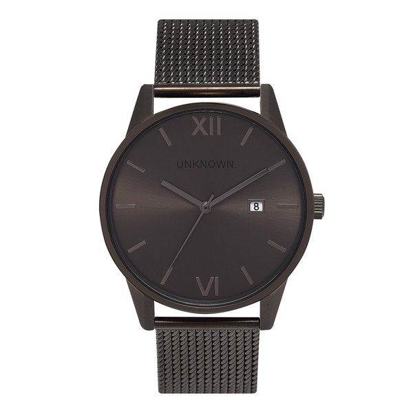 UNKNOWN Men's The Dandy Watch - Gunmetal Mesh