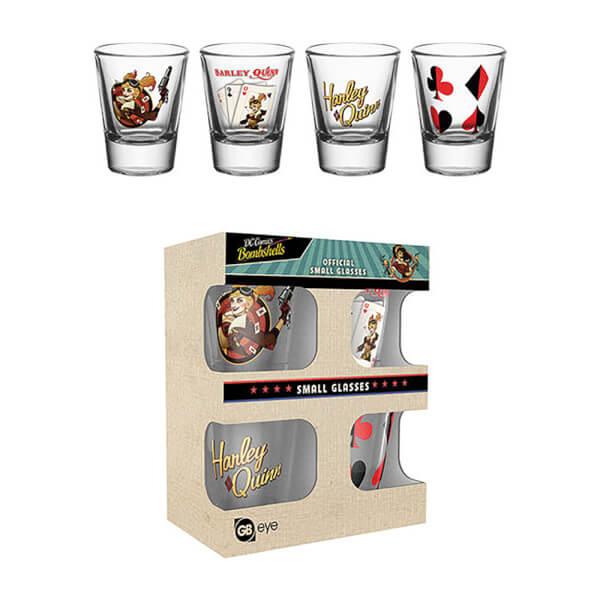 DC Comics Harley Quinn Bombshell - Shot Glasses