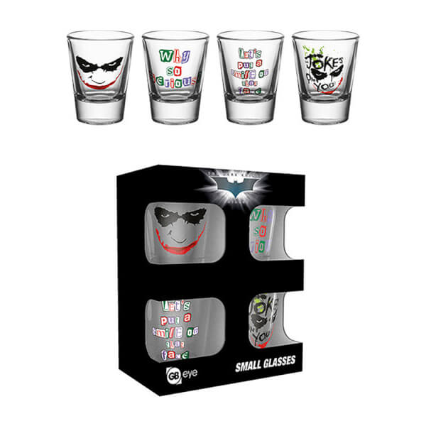 DC Comics Batman The Dark Knight Joker - Shot Glasses
