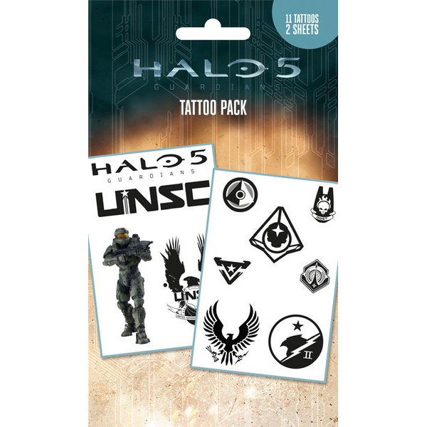 Halo 5 Mix - Tattoo Pack