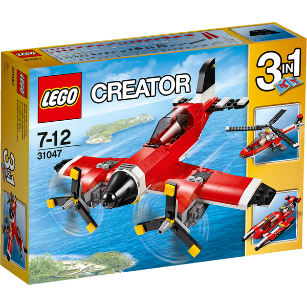 LEGO Creator: L'avion à hélices (31047)