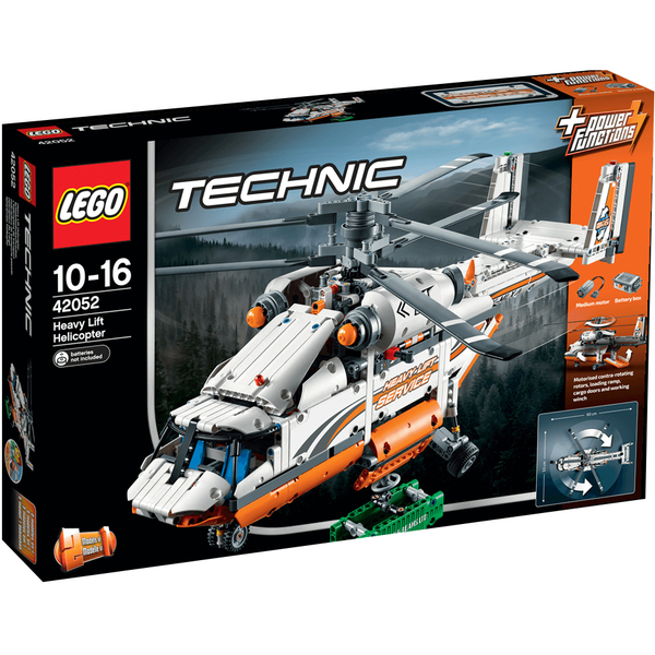 lego technic heavy lift helicopter 42052 toys. Black Bedroom Furniture Sets. Home Design Ideas