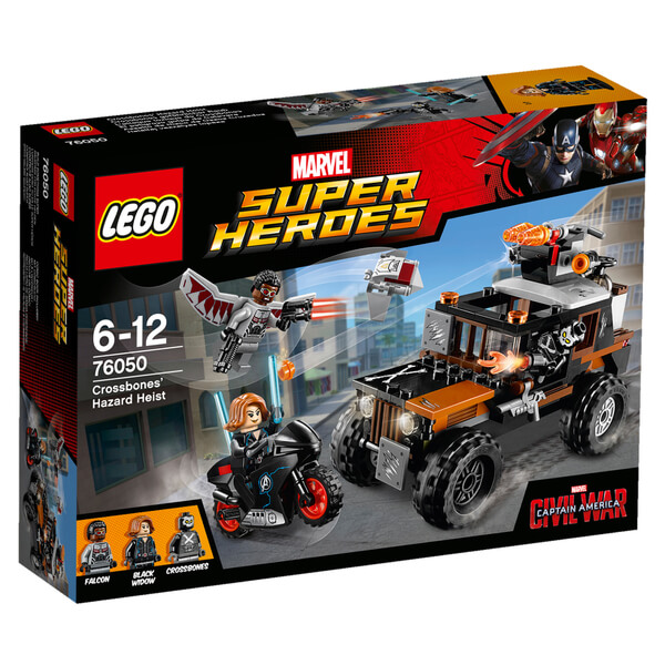 LEGO Marvel Super Heroes: Captain America Civil War Crossbones' Hazard Heist (76050)