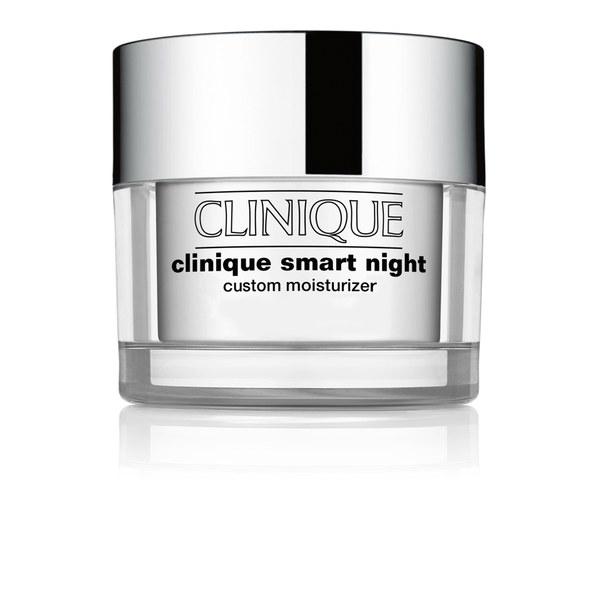 Clinique Smart Night Custom crème de nuit hydratante - Peau sèche à très sèche (50ml)