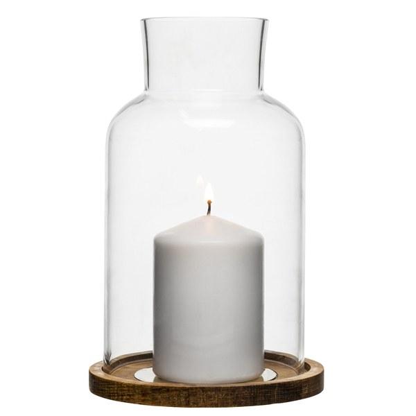 Sagaform Oval Oak Candle Holder