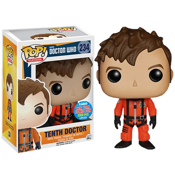 NYCC Doctor Who 10th Doctor in Space Suit Pop! Vinyl Figure
