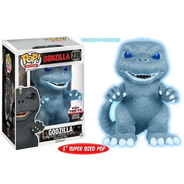 NYCC Godzilla Glow in the Dark Godzilla Exclusive 6 Inch Pop! Vinyl Figure