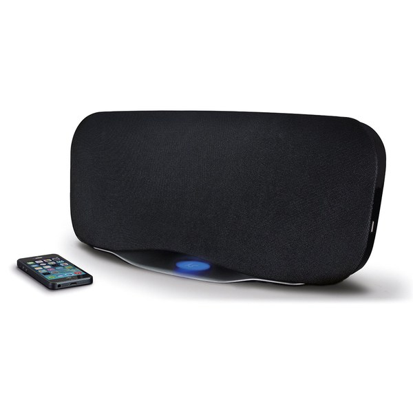 Kitsound Cayman 50W Bluetooth Speaker with Subwoofer - Black