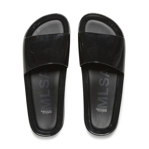 Melissa Women's Beach Slide Sandals - Black