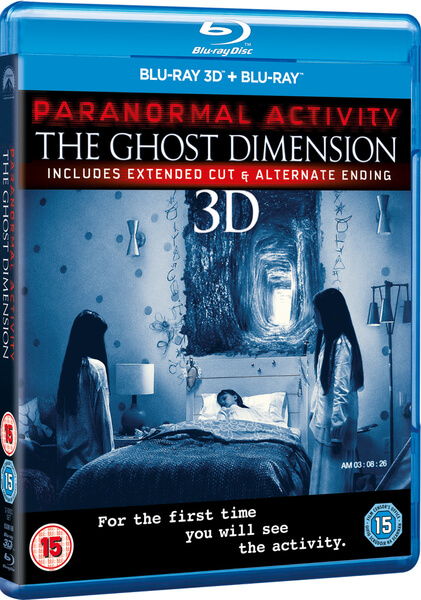 Paranormal Activity: The Ghost Dimension Blu-ray | Zavvi
